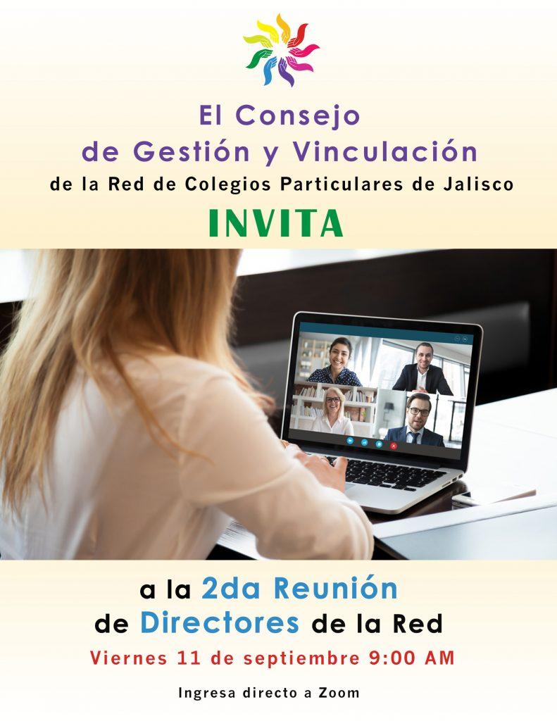 Convocatoria Segunda Reunión General de Directores de la Red